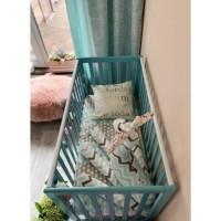 Кроватка Верес ЛД13 без ящика (цвет: тиффани)