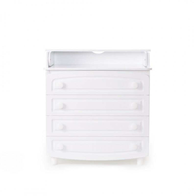ВЕРЕС Пеленатор 900 филенка МДФ (цвет: белый)