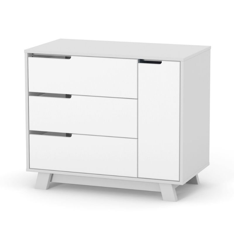 Комод Верес Манхеттен 900 (цвет: бело-серый)