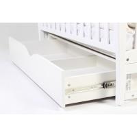 Кроватка Верес Соня ЛД3 маятник с ящиком (цвет: белый) ЕС (новый функционал)