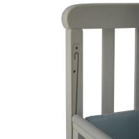 Кроватка Верес Соня ЛД12 без ящика (цвет: белый)