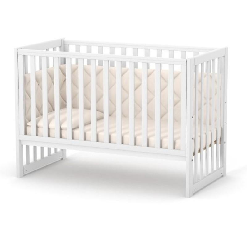 Кроватка Верес ЛД13 без ящика (цвет: белый)