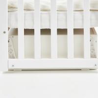 Кроватка Верес Соня ЛД13 маятник с ящиком (цвет: белый) съемные спицы