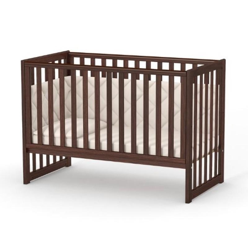 Кроватка Верес ЛД13 без ящика (цвет: орех)