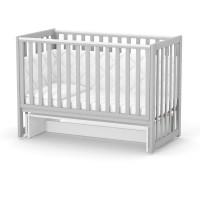 Кроватка Верес ЛД13 без ящика (цвет: серый)