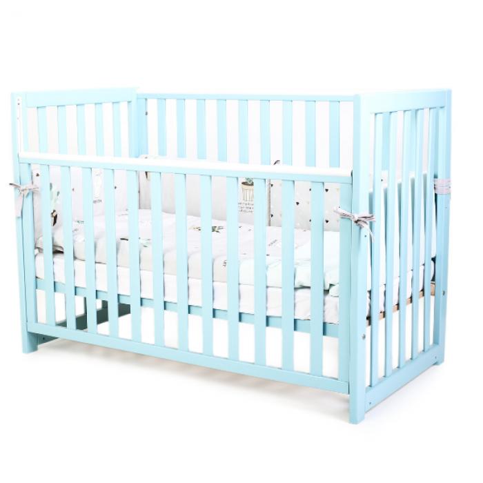 Кроватка Верес Соня ЛД13 без ящика (цвет: тифани) съемные спицы
