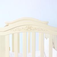 Кроватка Верес Соня ЛД3 без ящика (цвет: слоновая кость) ЕС (новый функционал)