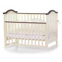 Кроватка Верес Соня ЛД3 без ящика (цвет: слоновая кость-орех) ЕС (новый функционал)