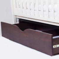 Кроватка Верес Соня ЛД3 маятник с ящиком (цвет: слоновая кость-орех) ЕС (новый функционал)