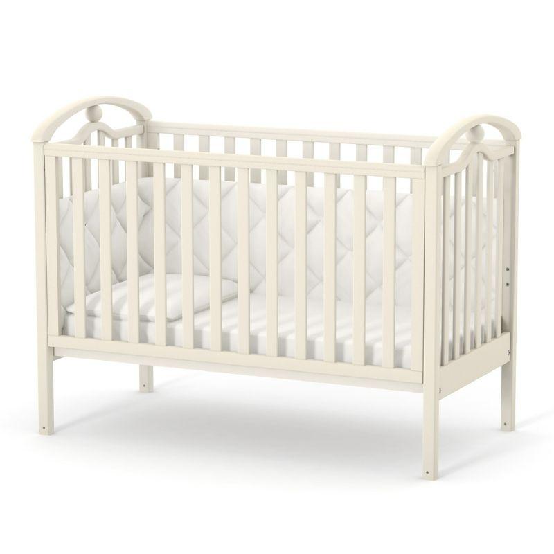 Кроватка Верес ЛД5 (цвет: слоновая кость)
