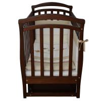 Кроватка Верес Соня ЛД6 маятник с ящиком (цвет: орех)
