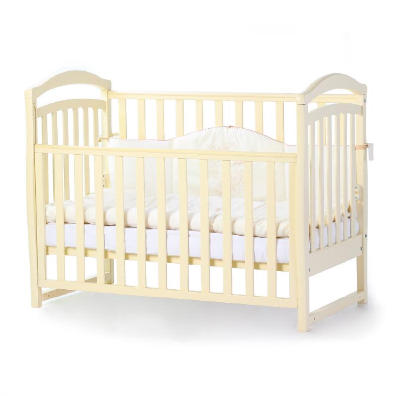 Кроватка Верес Соня ЛД6 без ящика (цвет: слоновая кость) ЕС (новый функционал)