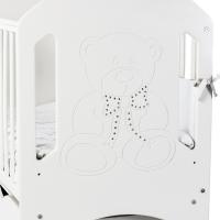 Ліжко Верес Соня ЛД8 маятник с ящиком (цвет: белый)