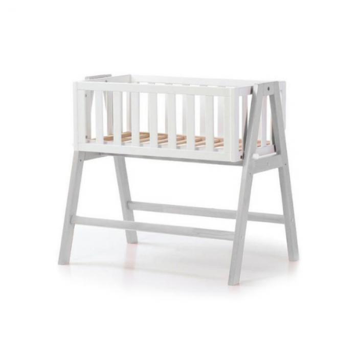 Люлька детская Верес Манхэттен (цвет: бело-серый)