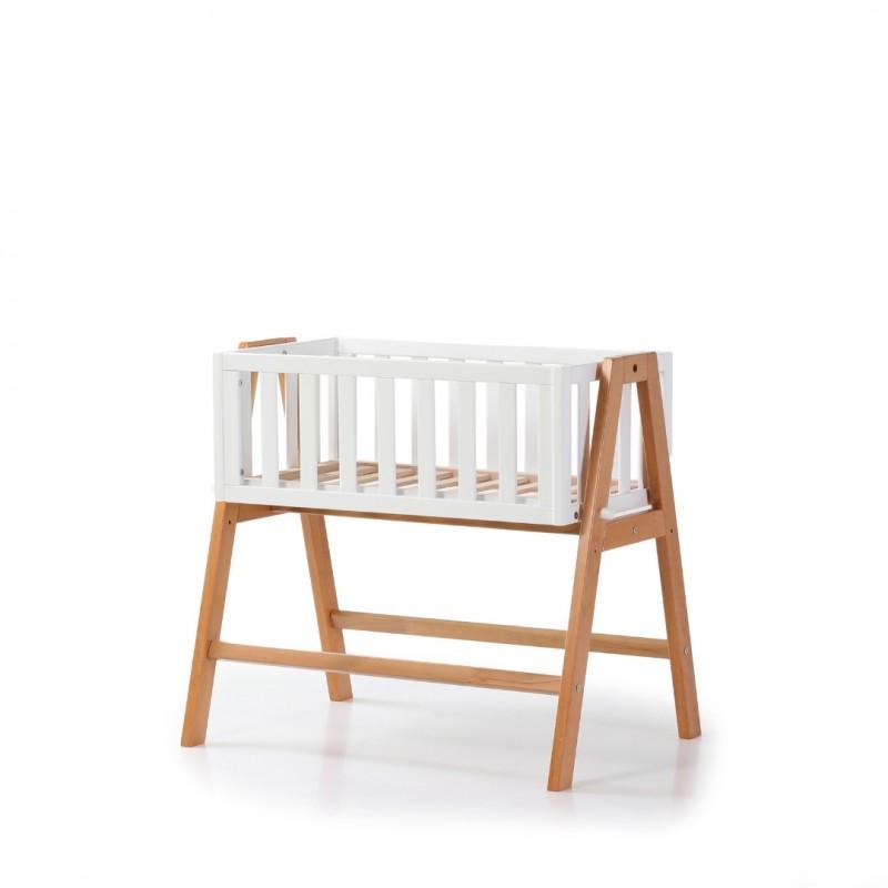 Люлька детская Верес Манхеттен (цвет: бело-буковый)