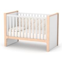 Кроватка Верес Ницца маятник с ящиком (цвет: бело-буковый)