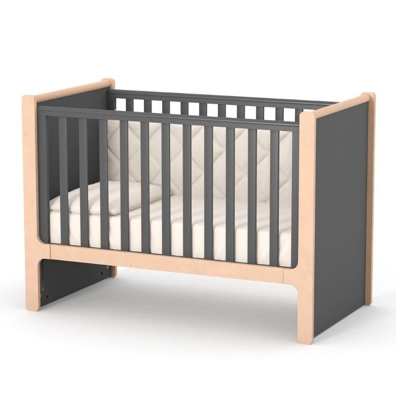 Кроватка Верес Ницца (цвет: темно-серый)