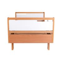 Кровать подростковая Верес Манхэттен (цвет: бело-буковый) 190*80