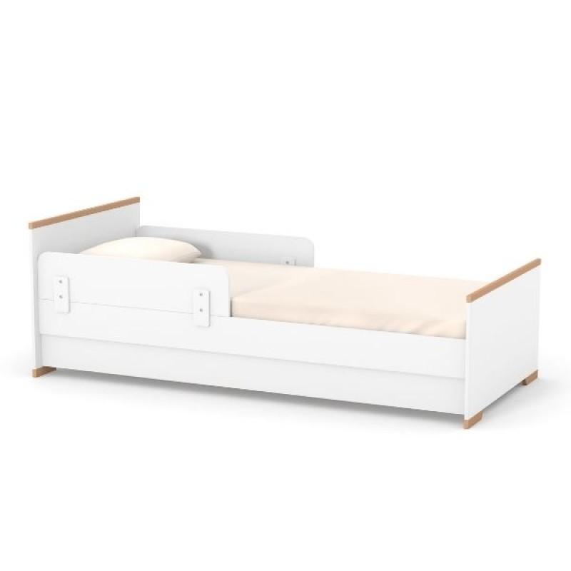 Кровать подростковая Верес Сиэтл (цвет: бело-буковый) 190*80
