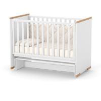 Кроватка Верес Сиэтл (цвет: бело-буковый)