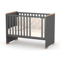 Кроватка Верес Сиэтл маятник с ящиком (цвет: темно-серый)
