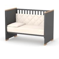 Кроватка Верес Сиэтл (цвет: темно-серый)
