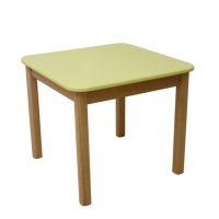 Детский столик Верес желтый