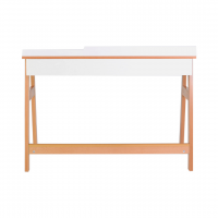 Письменный стол Верес Манхэттен (цвет: бело-буковый)