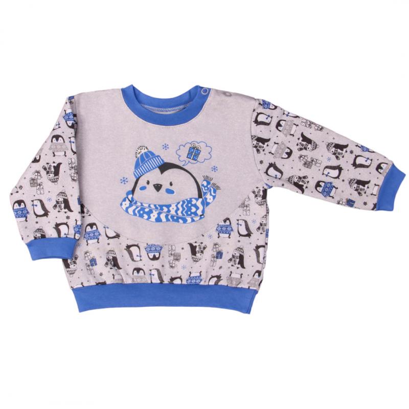 Кофточка-свитшот Penguins blue