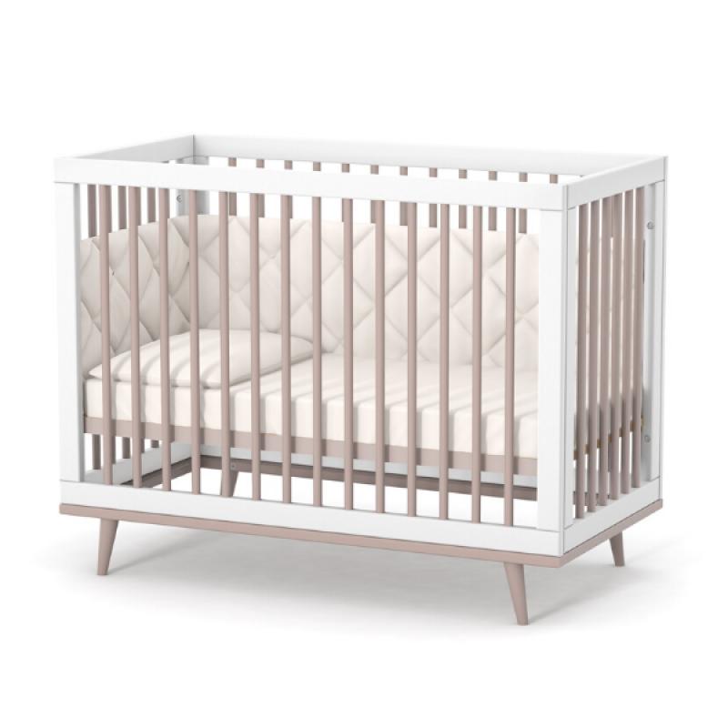 Кроватка Верес Нью Йорк (цвет: капучино-белый)