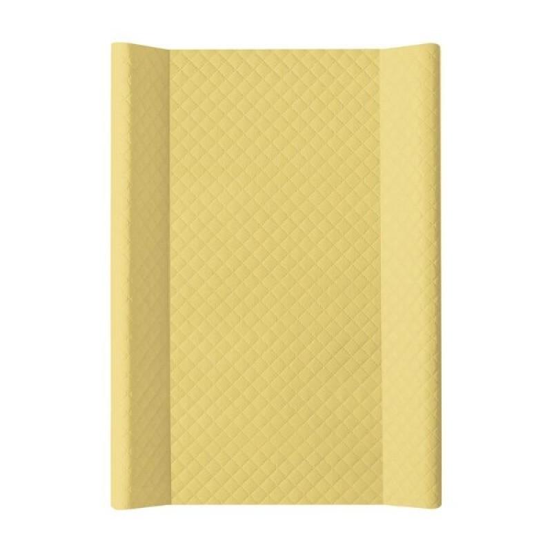 Пеленальная доска Ceba Baby 50*70 Caro (желтый)