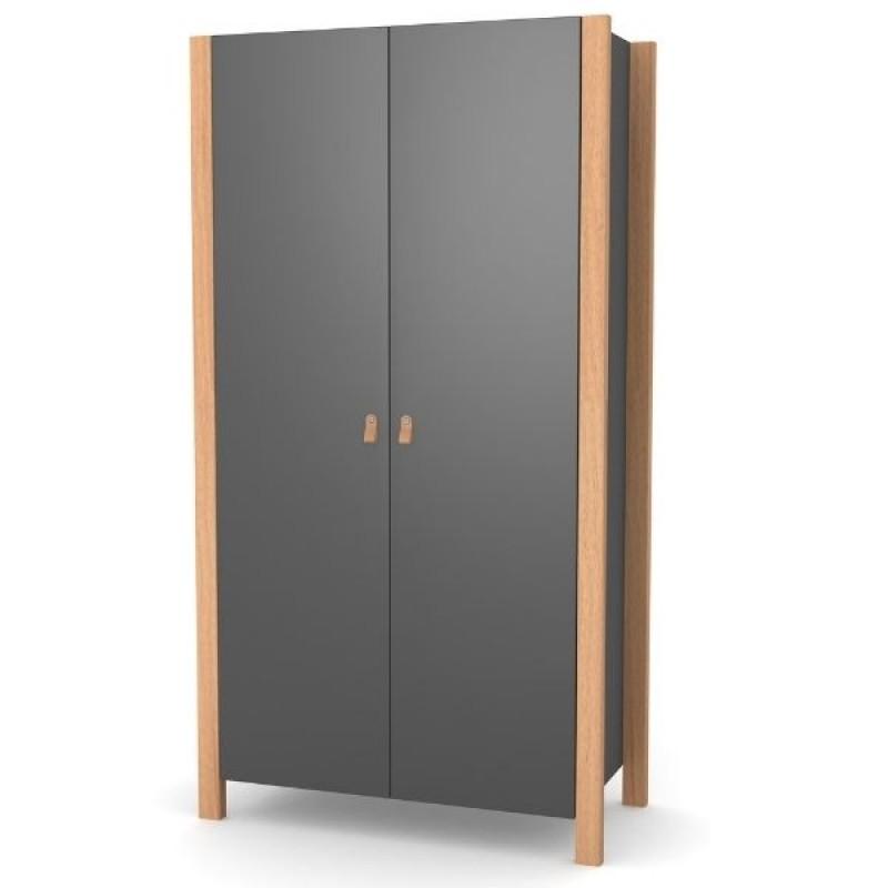 Шкаф Верес Монако (цвет: темно-серый) ВИТРИНА