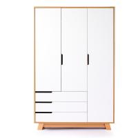 Шкаф Верес Манхэттен 1200 с ящиками (цвет: бело-буковый)