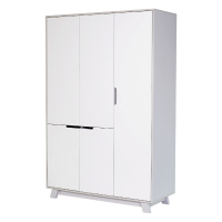 Шкаф Верес Манхэттен 1200 (цвет: бело-серый)