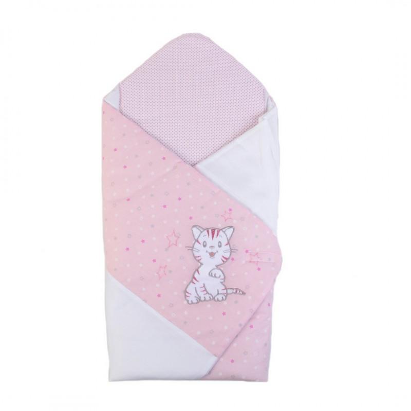 Конверт-одеяло Верес ''Little Cat pink''