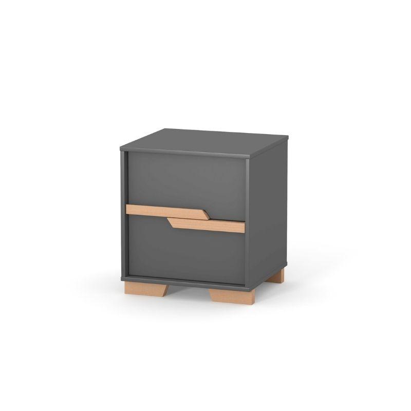 Тумбочка Верес Сиэтл (цвет: темно-серый)