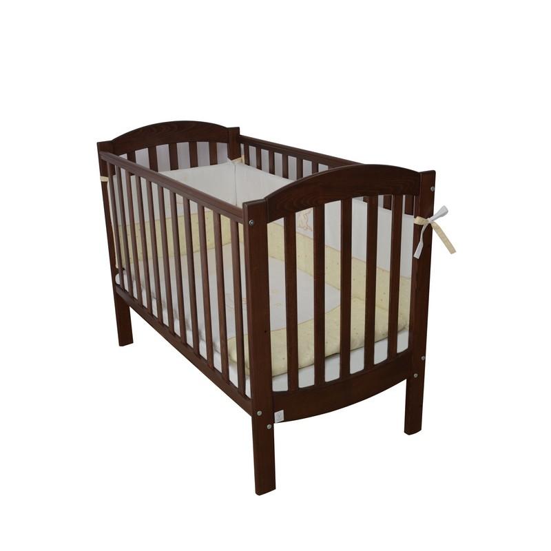 Кроватка Верес ЛД10 Эконом (Цвет:Орех) купить в официальном интернет магазине Верес