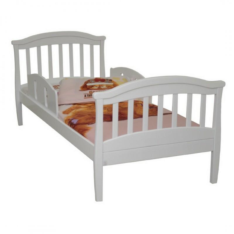 ВЕРЕС Соня кровать подростковая (без ящиков, цвет: белый)