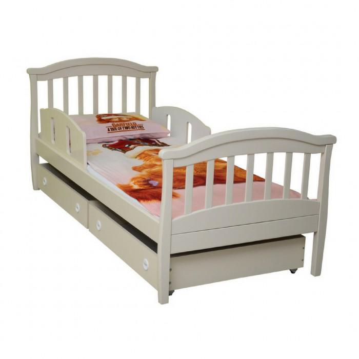 ВЕРЕС Соня кровать подростковая (без ящиков, цвет: слоновая кость)